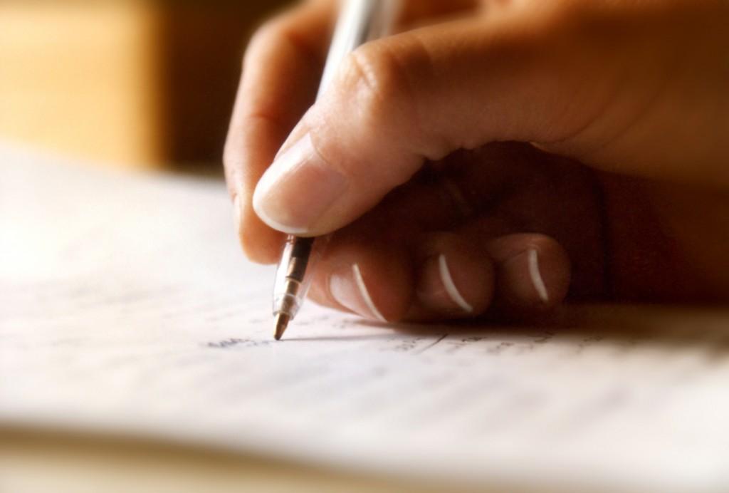 write testimony