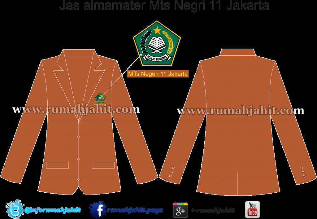 Jas almamater Mts Negeri 11 Jakarta