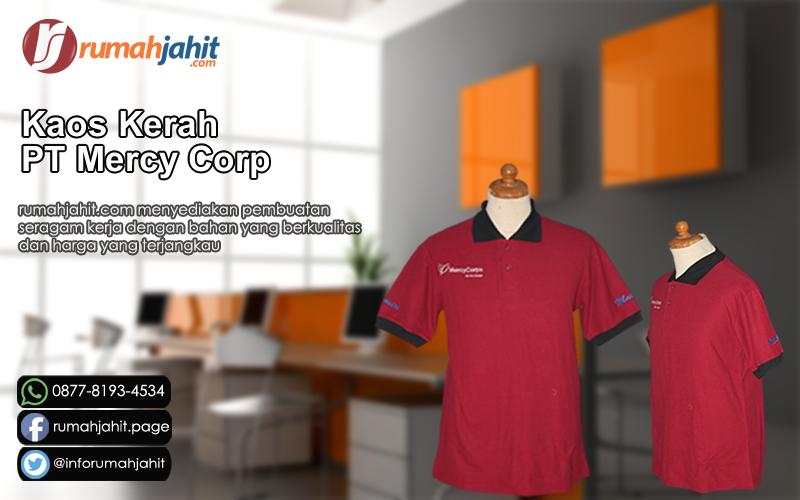 Kaos Kerah PT Mercy Corp