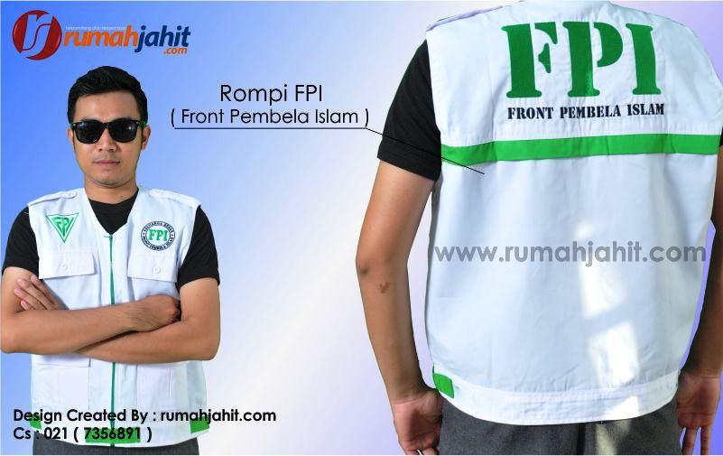 Rompi FPI ( Front Pembela Islam )