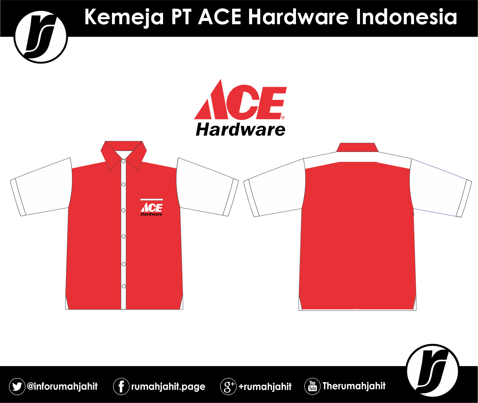 Kemeja PT Ace Hardware Corporation | Mitra Pengadaan