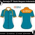 Kemeja PT Bank Negara Indonesia (BNI)