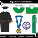 Toga Wisuda INTI Indonesia