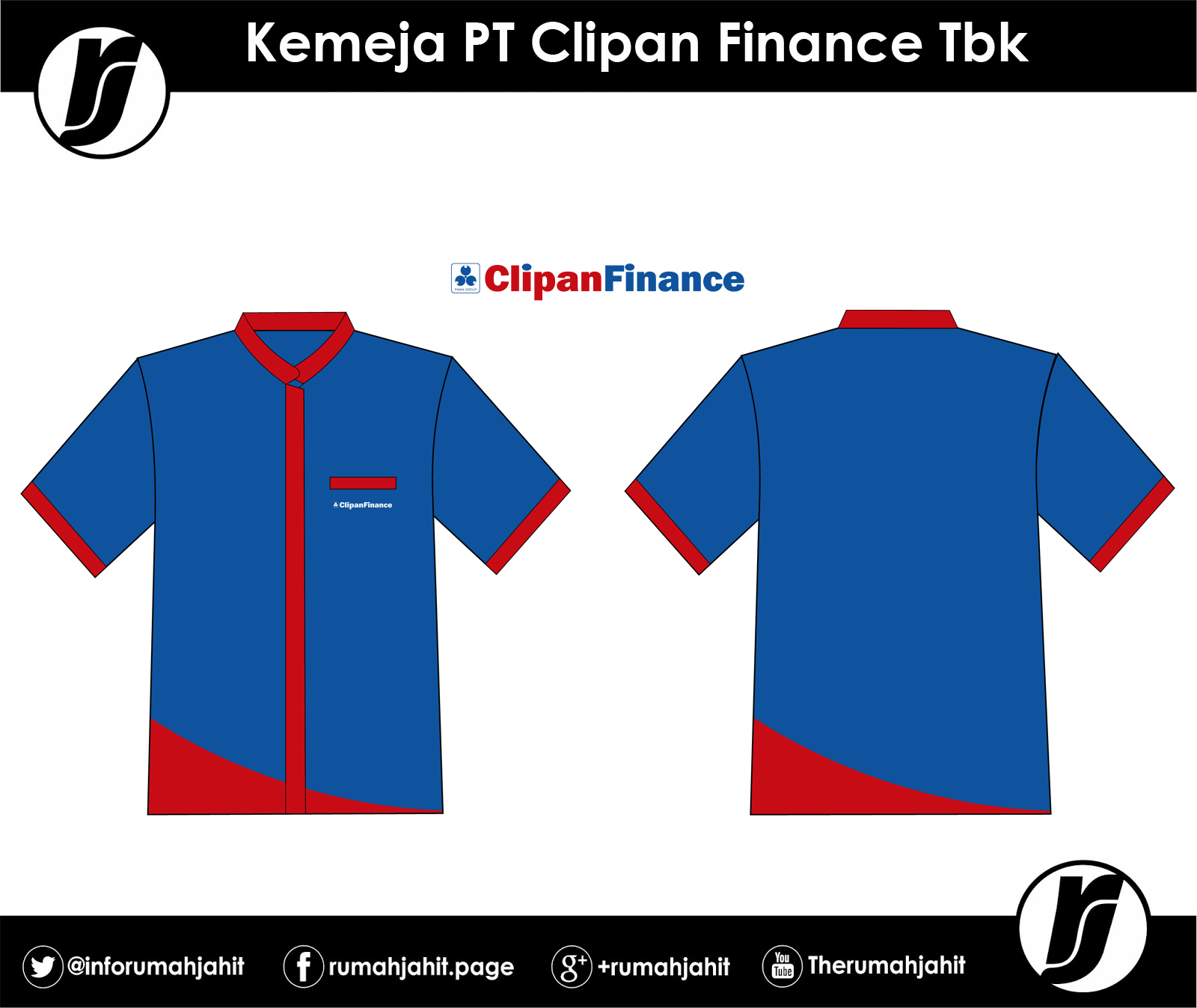 Kemeja PT. Clipan Finance Tbk   Mitra Pengadaan Seragam No ...