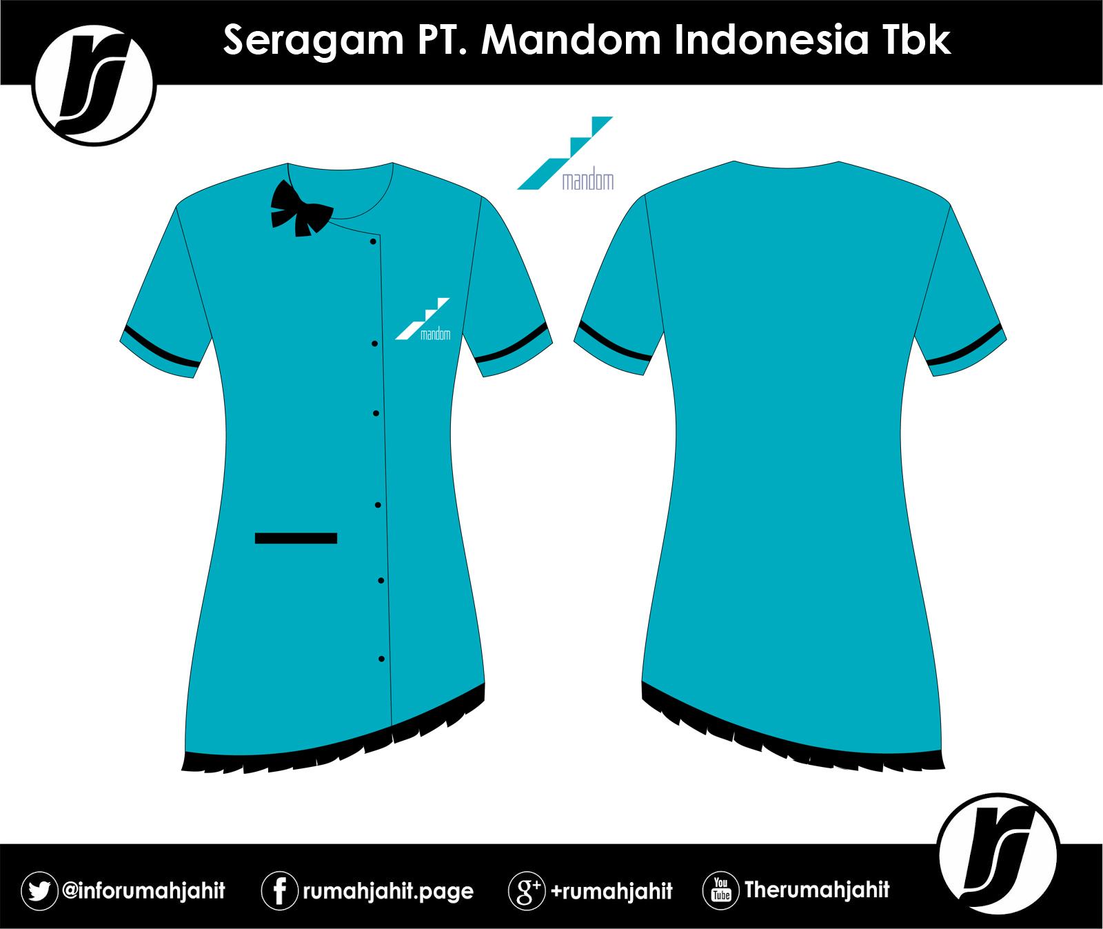 Kemeja PT. Mandom Indonesia Tbk - Mitra Pengadaan Seragam No 1 di ... e21578b467
