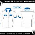 Kemeja PT. Surya Toto Indonesia Tbk
