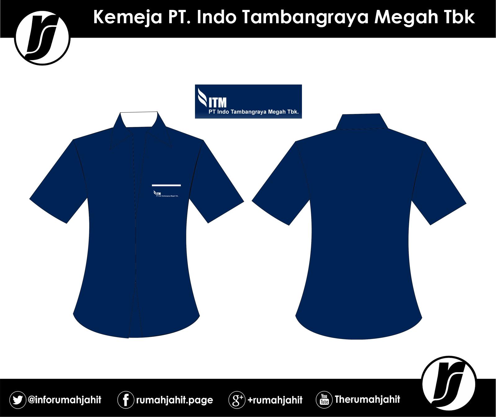 Kemeja PT Indo Tambangraya Megah Tbk