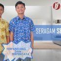 Baju seragam Sekolah Batik