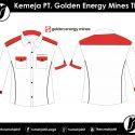 Kemeja PT. Golden Energy Mines Tbk