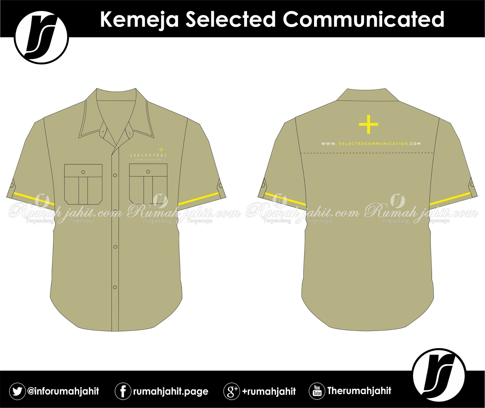 Kemeja Selected Communicated | Mitra Pengadaan Seragam No