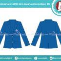 Jas Almamater AMIK BSI Jakarta