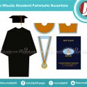 Toga Wisuda Akademi Pariwisata Nusantara Tangerang