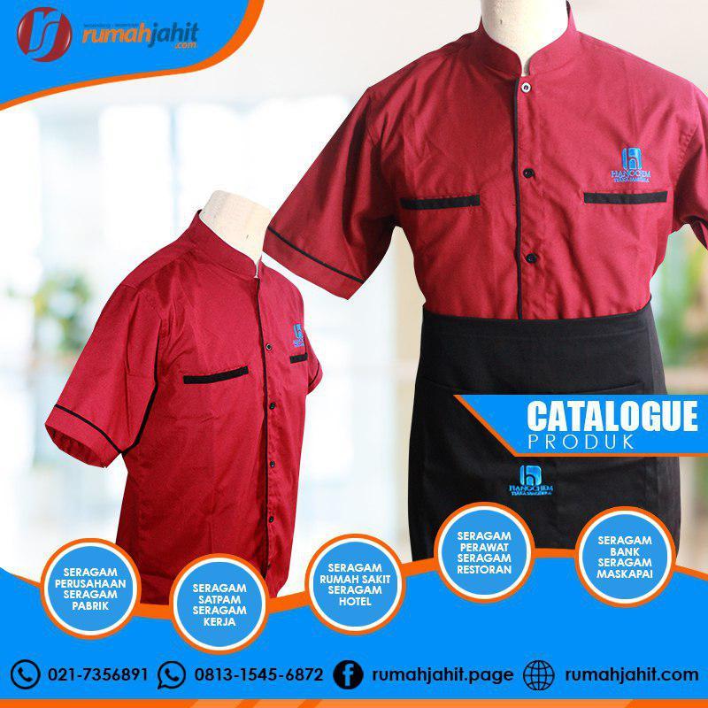 Baju Chef Batik