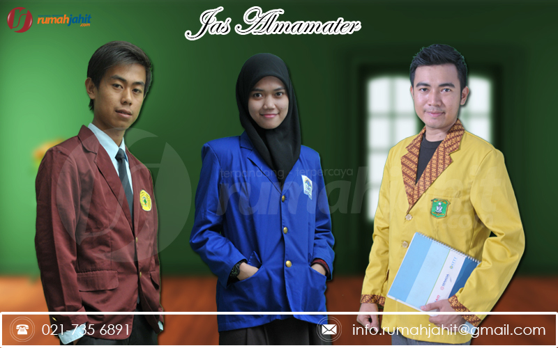 Konveksi Jas Almamater di Palembang