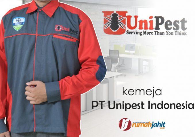 seragam kerja pt unipest indonesia